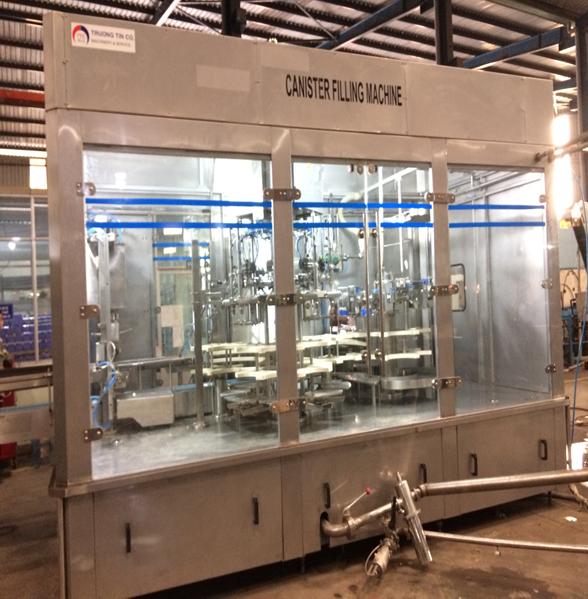 Máy chiết Bình 5 Gallon (máy chế tạo mới)